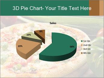 Freshly prepared pizza PowerPoint Template - Slide 35