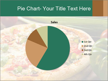 Freshly prepared pizza PowerPoint Template - Slide 36