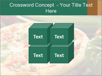 Freshly prepared pizza PowerPoint Template - Slide 39