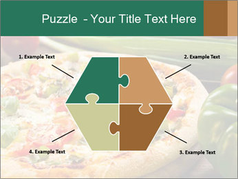 Freshly prepared pizza PowerPoint Template - Slide 40