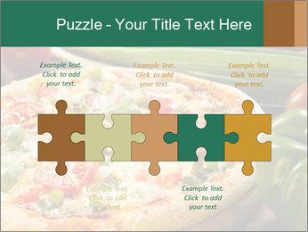Freshly prepared pizza PowerPoint Template - Slide 41