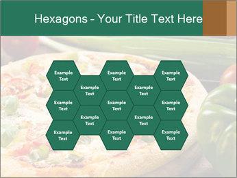 Freshly prepared pizza PowerPoint Template - Slide 44