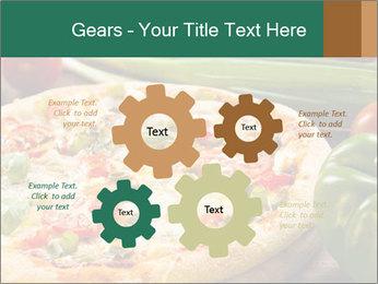Freshly prepared pizza PowerPoint Template - Slide 47