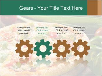 Freshly prepared pizza PowerPoint Template - Slide 48