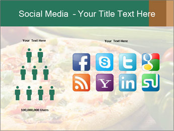 Freshly prepared pizza PowerPoint Template - Slide 5