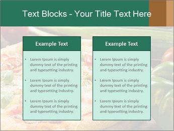 Freshly prepared pizza PowerPoint Template - Slide 57