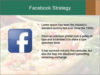 Freshly prepared pizza PowerPoint Template - Slide 6