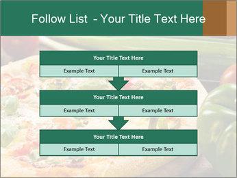 Freshly prepared pizza PowerPoint Template - Slide 60