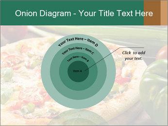 Freshly prepared pizza PowerPoint Template - Slide 61