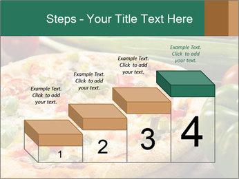 Freshly prepared pizza PowerPoint Template - Slide 64