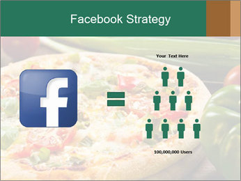 Freshly prepared pizza PowerPoint Template - Slide 7