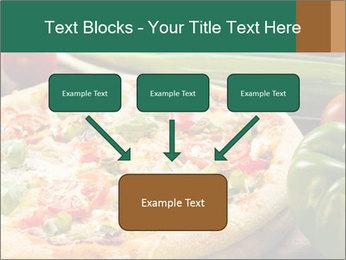 Freshly prepared pizza PowerPoint Template - Slide 70