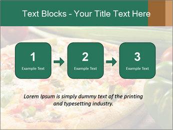 Freshly prepared pizza PowerPoint Template - Slide 71
