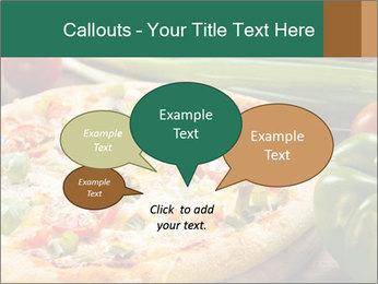 Freshly prepared pizza PowerPoint Template - Slide 73