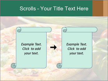 Freshly prepared pizza PowerPoint Template - Slide 74