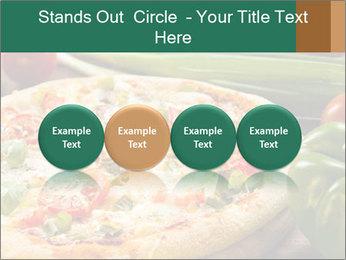 Freshly prepared pizza PowerPoint Template - Slide 76