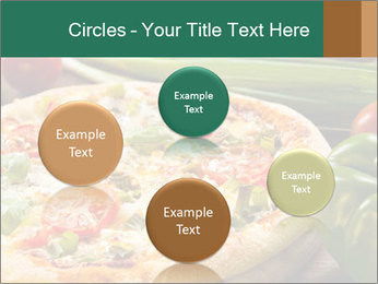 Freshly prepared pizza PowerPoint Template - Slide 77