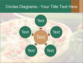 Freshly prepared pizza PowerPoint Template - Slide 78