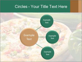 Freshly prepared pizza PowerPoint Template - Slide 79