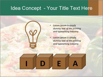 Freshly prepared pizza PowerPoint Template - Slide 80