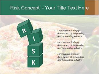 Freshly prepared pizza PowerPoint Template - Slide 81