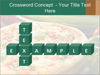 Freshly prepared pizza PowerPoint Template - Slide 82
