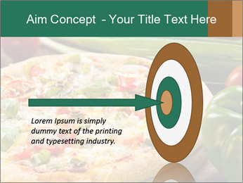 Freshly prepared pizza PowerPoint Template - Slide 83