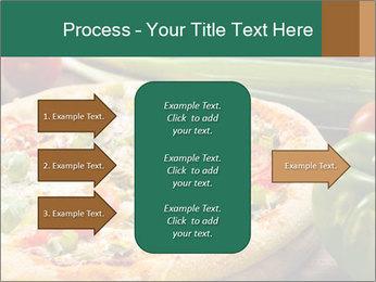 Freshly prepared pizza PowerPoint Template - Slide 85