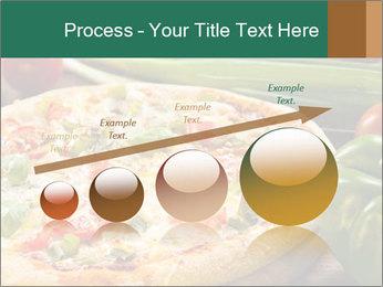 Freshly prepared pizza PowerPoint Template - Slide 87