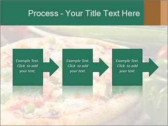 Freshly prepared pizza PowerPoint Template - Slide 88