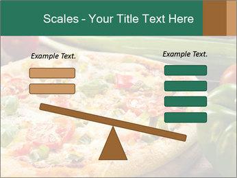 Freshly prepared pizza PowerPoint Template - Slide 89