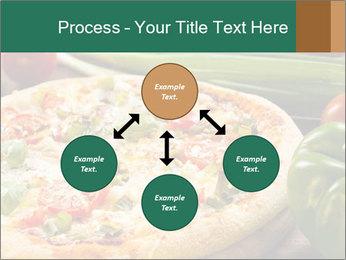 Freshly prepared pizza PowerPoint Template - Slide 91