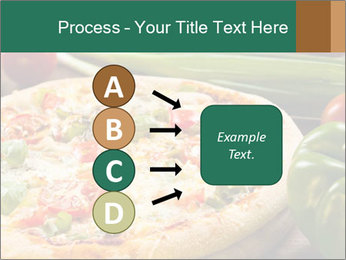 Freshly prepared pizza PowerPoint Template - Slide 94