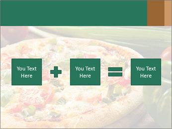Freshly prepared pizza PowerPoint Template - Slide 95