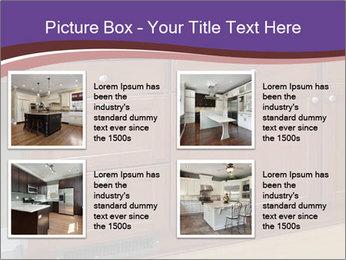 Kitchen in luxury home PowerPoint Template - Slide 14