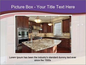 Kitchen in luxury home PowerPoint Template - Slide 15