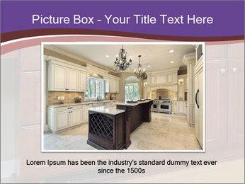 Kitchen in luxury home PowerPoint Template - Slide 16