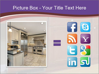 Kitchen in luxury home PowerPoint Template - Slide 21