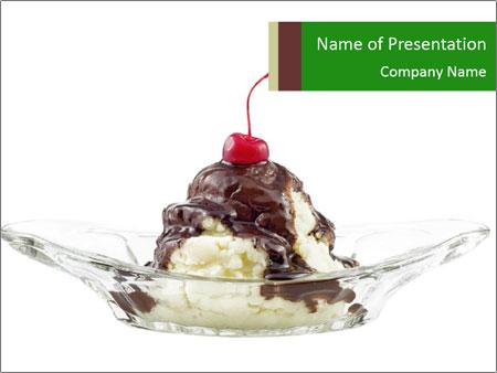 Ice cream PowerPoint Template