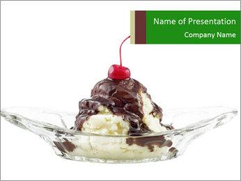 Ice cream PowerPoint Template - Slide 1