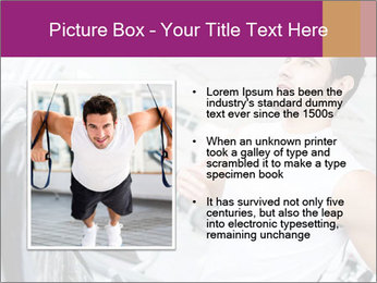 Handsome gym PowerPoint Template - Slide 13