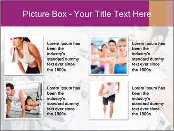 Handsome gym PowerPoint Template - Slide 14