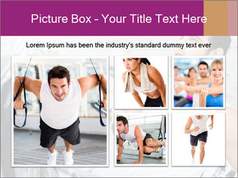 Handsome gym PowerPoint Template - Slide 19