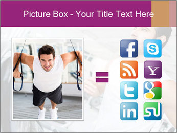 Handsome gym PowerPoint Template - Slide 21
