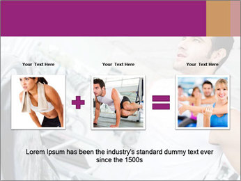 Handsome gym PowerPoint Template - Slide 22
