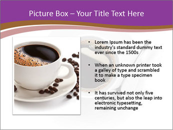 Cup of coffee PowerPoint Template - Slide 13