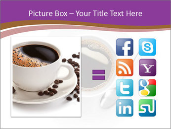 Cup of coffee PowerPoint Template - Slide 21