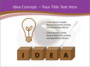 Cup of coffee PowerPoint Template - Slide 80