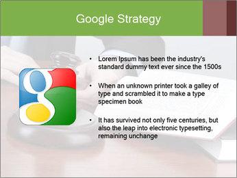 Wooden gavel PowerPoint Template - Slide 10