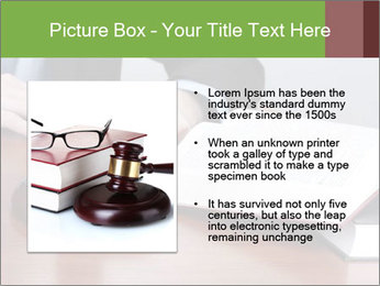 Wooden gavel PowerPoint Template - Slide 13